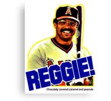 Reggie!  Canvas Print