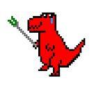 Dinosaur by RainbowMuffin