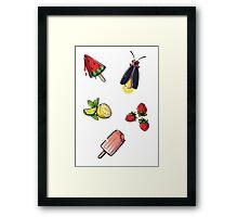 Summer Treats Framed Print
