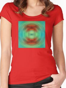 Qi - Energy Art By Sharon Cummings Women's Fitted Scoop T-Shirt