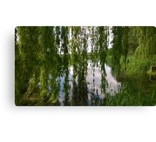 Willow norfolk river Canvas Print