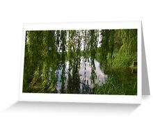 Willow norfolk river Greeting Card
