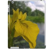 Flower over river iPad Case/Skin