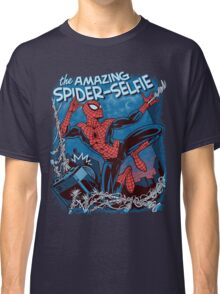 The Amazing Spider-Selfie Classic T-Shirt