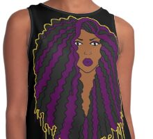 Black Girl, Purple Magic  Contrast Tank