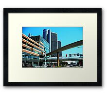 Renaissance Center  Framed Print