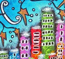 Winter In The City Sticker