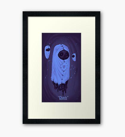 GHOSTS... Framed Print
