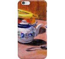 Tea Set and Fruit Bowl iPhone Case/Skin
