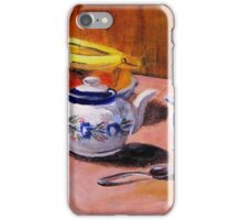 Tea Set and Fruit Bowl iPhone Case/Skin