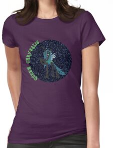 QueenChrysalisGlitter Womens Fitted T-Shirt