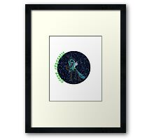 QueenChrysalisGlitter Framed Print