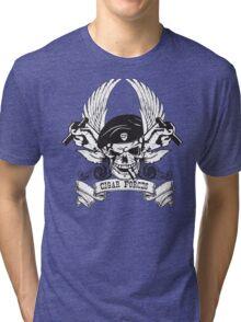 Cigar Forces T-Shirt Tri-blend T-Shirt