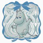 Moomintroll by GlitterZombie