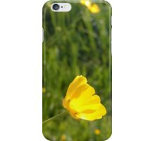Buttercup over river in norfolk iPhone Case/Skin