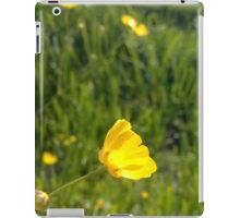 Buttercup over river in norfolk iPad Case/Skin