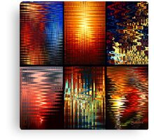 Windows of Colour Canvas Print