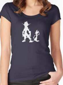 Jak and Daxter: The Precursor Legacy Silhouette 2 Women's Fitted Scoop T-Shirt