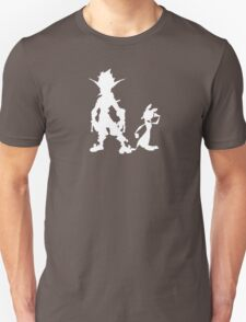 Jak and Daxter: The Precursor Legacy Silhouette 2 Unisex T-Shirt