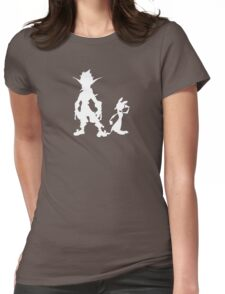 Jak and Daxter: The Precursor Legacy Silhouette 2 Womens Fitted T-Shirt