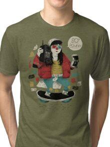 80's  power! Tri-blend T-Shirt