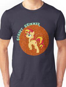 SunsetShimmerGlitter Unisex T-Shirt