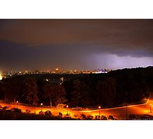Lightning in the sky Photographic Print
