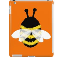 Bumble Bee on Orange. iPad Case/Skin