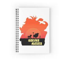 HAKUNA MATATA Spiral Notebook