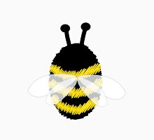 Bumble Bee on Orange. Unisex T-Shirt