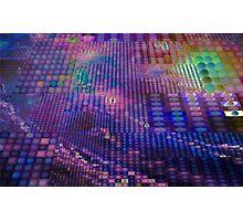 Push Button Universe Generative Algorithmic Art Photographic Print