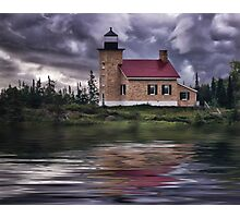 Copper Harbor Lighthouse Photographic Print