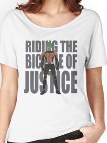 The bycicle of justice Women's Relaxed Fit T-Shirt