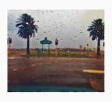 Rainy Wet Droplets One Piece - Long Sleeve