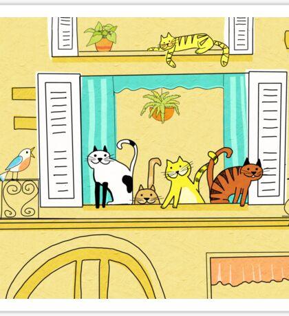 Kitty-Kat Chateau Sticker