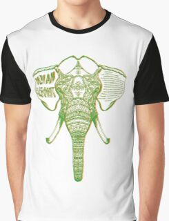Psychedelic Elephant Graphic T-Shirt