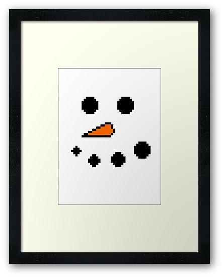 Snowman by RainbowMuffin