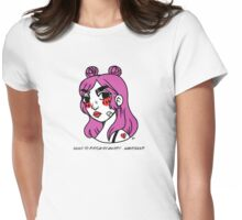NEED TO PATCH MY HEART... WHATEVER Womens Fitted T-Shirt