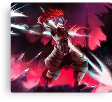 Undyne the Undying Canvas Print