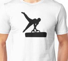 Gymnastics pommel horse Unisex T-Shirt