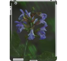 Artistic Sage Flowers iPad Case/Skin