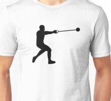 Hammer throw Unisex T-Shirt
