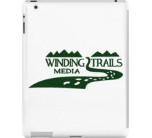 Winding Trails Media Green Logo iPad Case/Skin