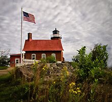 Eagle Harbor lighthouse by Kathy Weaver
