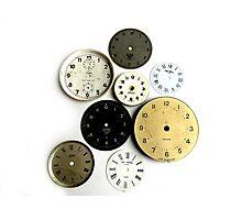 Clocks! Photographic Print