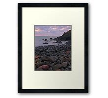 When The Music Fades Framed Print