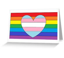 Trans Love Greeting Card