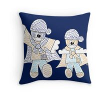 Ready For Action! Throw Pillow