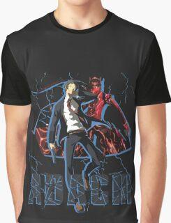 Adachi - Persona 4 Graphic T-Shirt