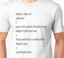 dapper  Unisex T-Shirt